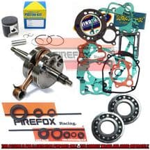 Suzuki RM125 2006 Mitaka Engine Rebuild Kit Inc Crank Piston Gaskets